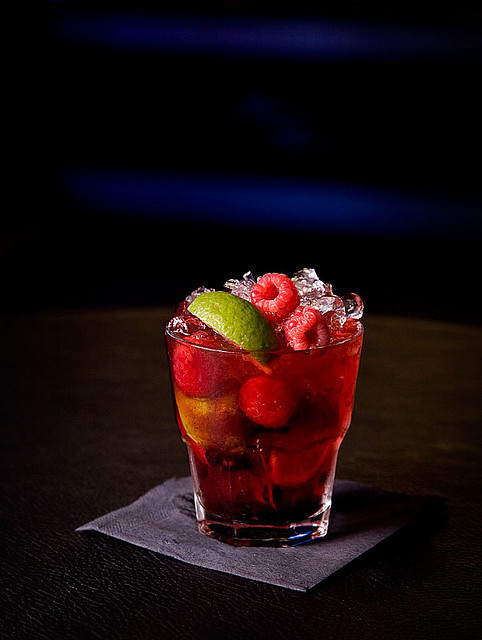 Rasberry coctail by Espen Lodden on Flickr.