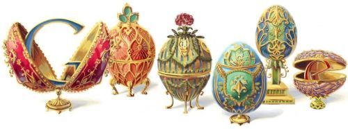 Happy birthday to Peter Carl Fabergé See the entire process on the official google doodle blog.