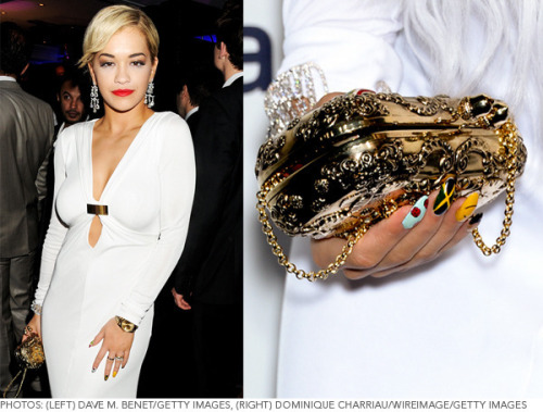 We loved Rita Ora's fun manicure at the Cannes Film Fest!