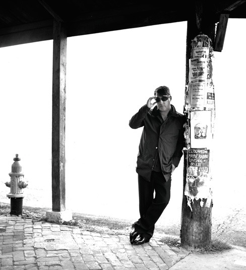 Greg Dulli of The Afghan Whigs photographed in New Orleans for Q magazine.