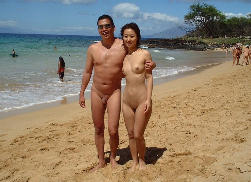 Hot asian girl nude beach