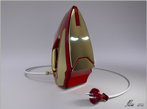 timothydelaghetto:  It's an IRON MAN iron, man!!!