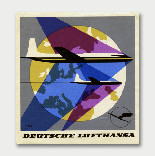iconoclassic:  (via International Mid-Century Modern Luggage Labels – Part 2 / Aqua-Velvet)