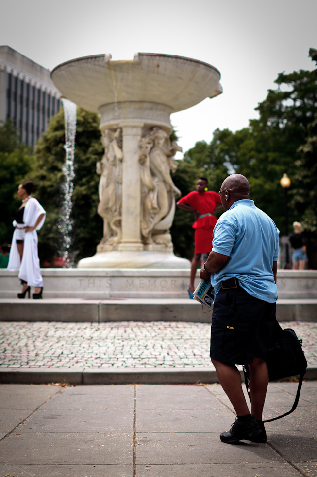 Dupont Circle; May 30, 2012; Washington, DC. (© Jason Novak)