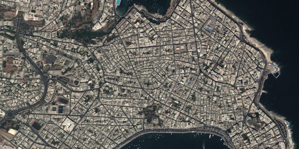 LAND+CITY+URBAN+SCAPE | 805 | VALLETTA | MALTA | GOOGLE EARTH