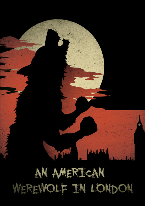 fuckyeahmovieposters:   An American Werewolf in London by Adam Armstrong