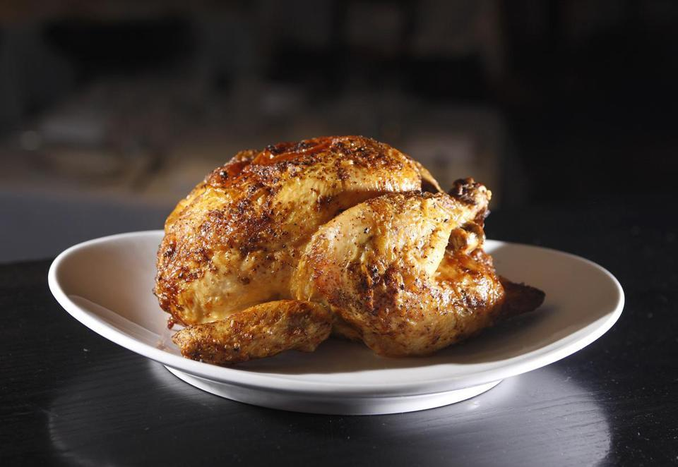 Roast chicken goes from homey to hip  The whole roast chicken has left the home kitchen, making for restaurants around town.