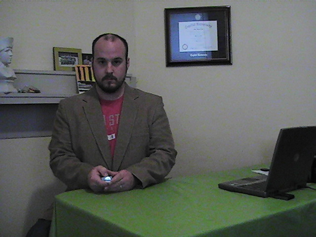 This is me in 2008, making a homemade demo video so I could apply for a TV job that I knew I had no chance in getting. Four years later, I'm making videos like this every week for a living. Life can be shitty sometimes, but sometimes it's also quite awesome.