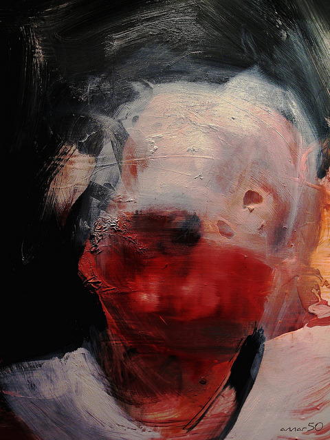welovepaintings:  Head study, by Antony Micallef