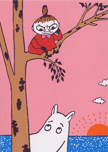 seanlian:  Japanese Moomin card - 13 - Not available by b-island on Flickr.
