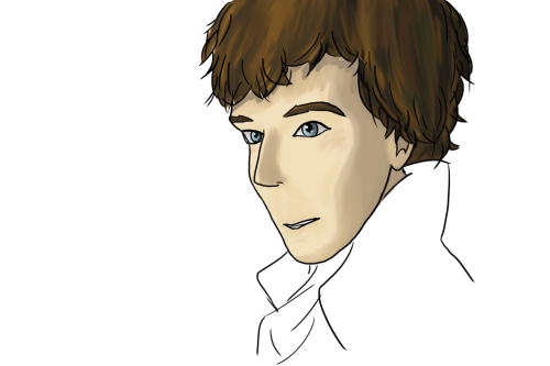 Moar Sherlock! Those eyes, man. I just want to draw them all the time.