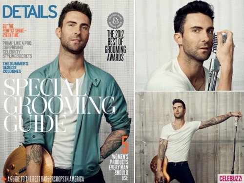 Celebuzz has comprised some of Adam Levine's most shocking quotes from the candid interview with Details Magazine (warning, Adam has some strong language)