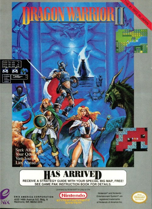 Dragon Warrior II.
