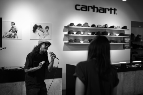 Photographed at DJ Dam Funk Dj Set for Carhartt