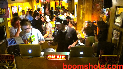 via @BOOMSHOTS SPLIFFINGTON & MAX GLAZER AT THE MR VEGAS 'SWEET JAMAICA' ALBUM MEET & GREET CHEZ MISS LILY'S VARIETY.  SHOUT OUT TO ROB KENNER & FYAH BLACKS.