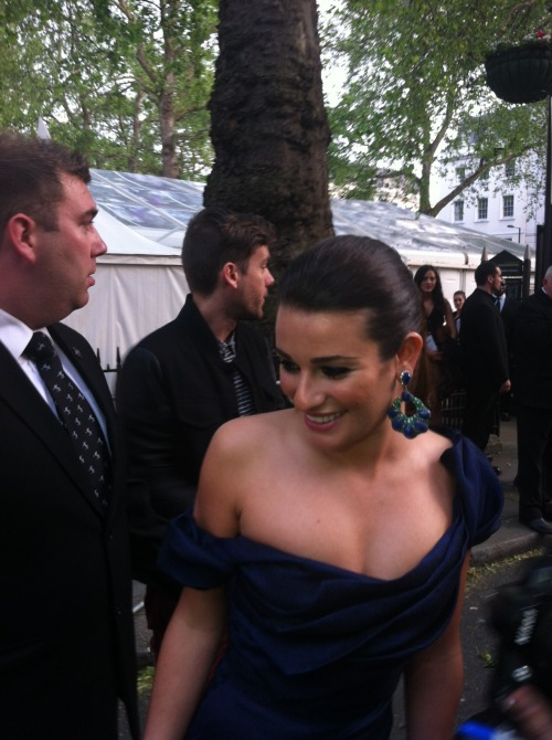 Lea at the Glamour Awards 2012
