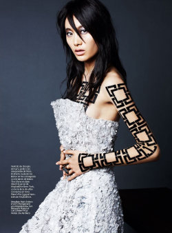 spinningbirdkick:  Kai Z Feng / S Moda May 2012.