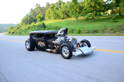 carmonday:  2,000 naturally aspirated horsepower Ford Model A sedan you can find a video of this beast on Carmonday's Facebook page