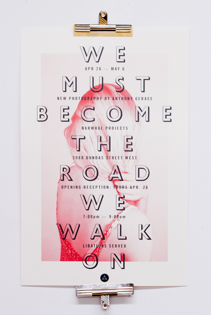visualgraphic:  We Must Become the Road We Walk On