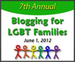 """LGBT parenting blog Mombian is calling for anyone to write a blog post relating to LGBT families for their 7th Annual Blogging for LGBT Families Day coming up this Friday, June 1st. They then want you to share it through any social media platform you use (Facebook, Twitter, Tumblr, etc.), as well as submitting your blog post to their website. Additional instructions and information can also be found on Mombian.com. Mombian received a GLAAD Media Award for Outstanding Blog at the GLAAD Media Awards this year. Don't know what to write about? Here are some ideas from Mombian."""