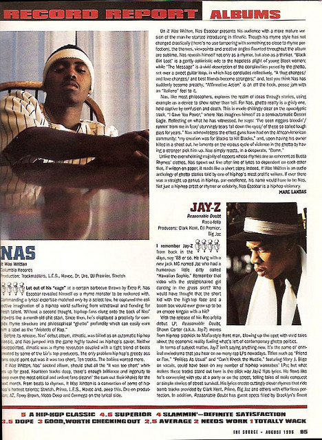 The Source Magazine.August, 1996.