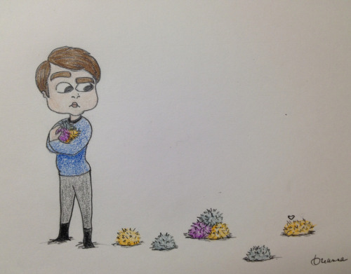 bb bohns meets some tribbles.