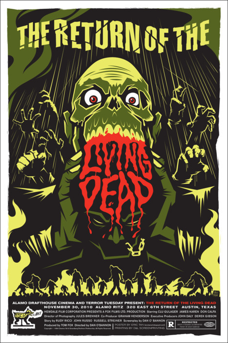 horror-sex-gore:  Return of the Living Dead (1985)