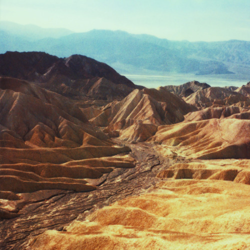 officialneilkrug:  Zabriskie Point IV Photograph by Neil Krug © Neil Krug