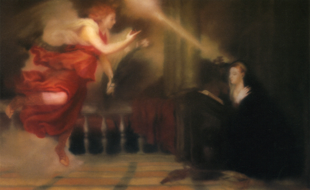 Gerhard Richter, Annunciation After Titian, 1973