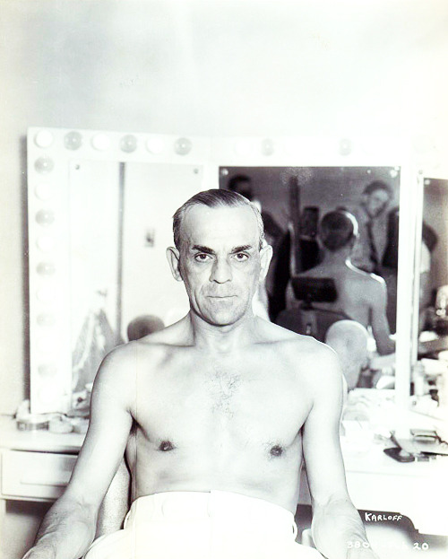 vintagesonia:  The legendary Boris Karloff