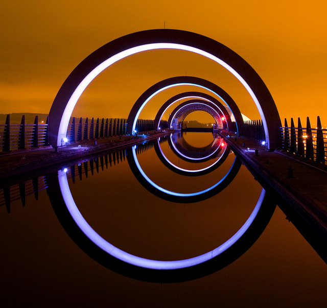 travelingcolors:  That shot of the Falkirk Wheel | Scotland (by Semi-detached)
