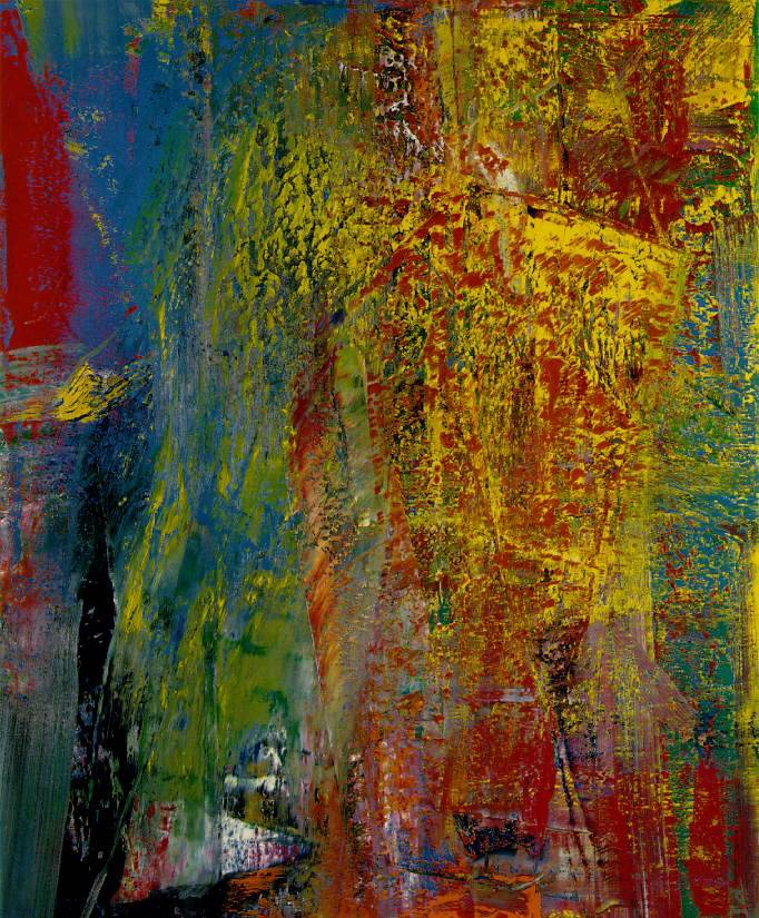 Gerhard Richter, Courbet, 1986