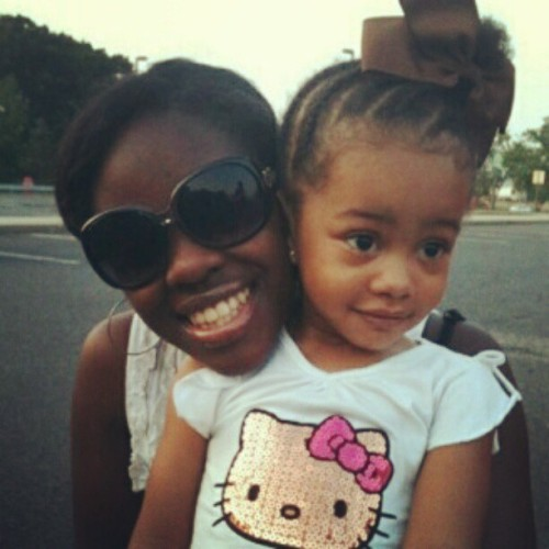 Look at me nd me nd my sweetie pea. I love her to death :) (Taken with instagram)