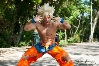 imaginarytomodachi:  SSJ2 Goku cosplay 6 by *SSJ4Theo