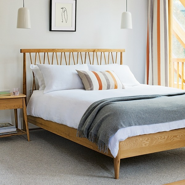 (via Buy ercol for John Lewis Chiltern Bedstead, Double online at JohnLewis.com - John Lewis)