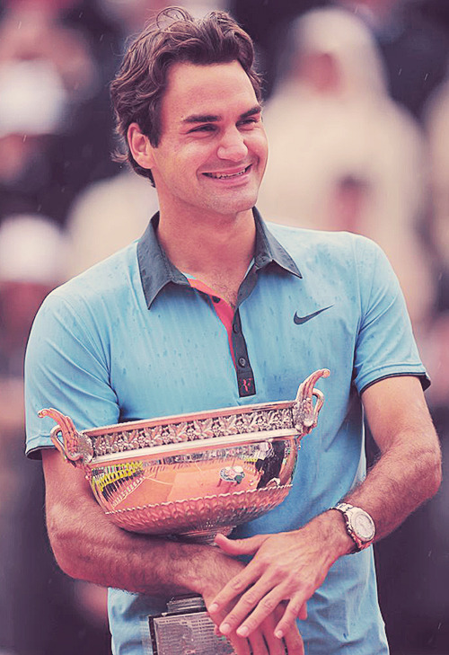 Roger Federer is my hero.