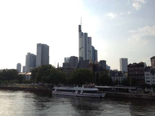 Beautiful day in Frankfurt am Main