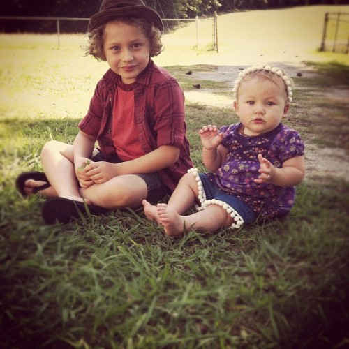 My little ones #eisley #matty #matthias  (Taken with instagram)