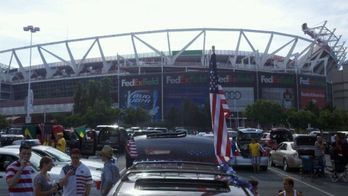 Hello FedEx Field! !