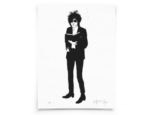 Stewy, John Cooper Clarke silkscreen on Flickr.