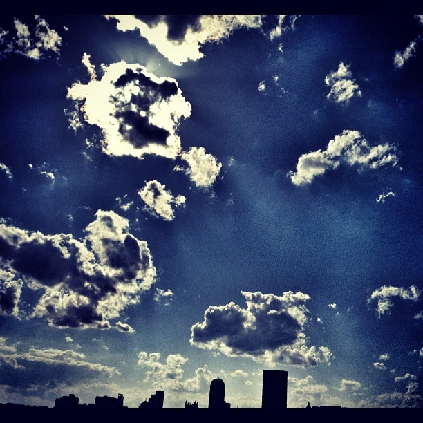 Clouds over Pittsburgh (Taken with instagram)