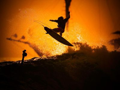 Sunset Surfer, Indonesia. One of our personal favorites.