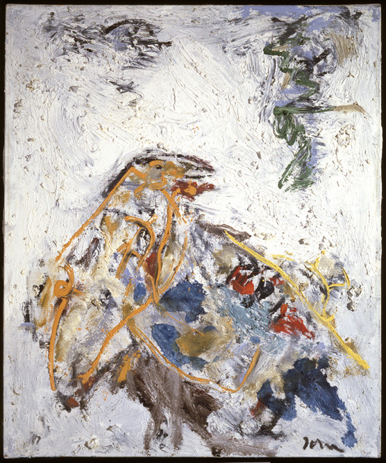 cavetocanvas:  Asger Jorn, Memories Go Past, 1971