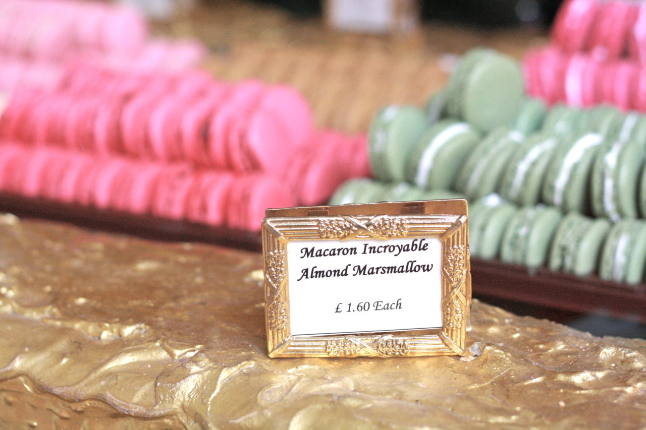 *sigh* the sugary motherload at Laduree (Burlington Arcade, London)