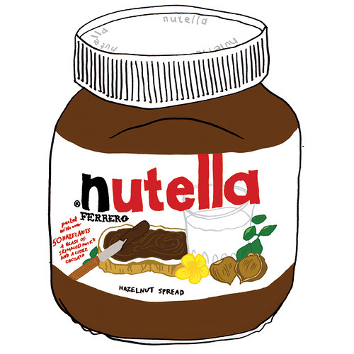 """Like"" this on Facebook if you love Nutella!"