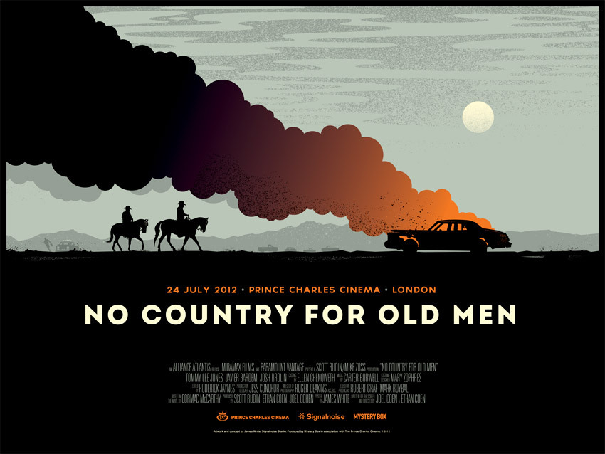 Signal Noise for NO COUNTRY FOR OLD MEN.