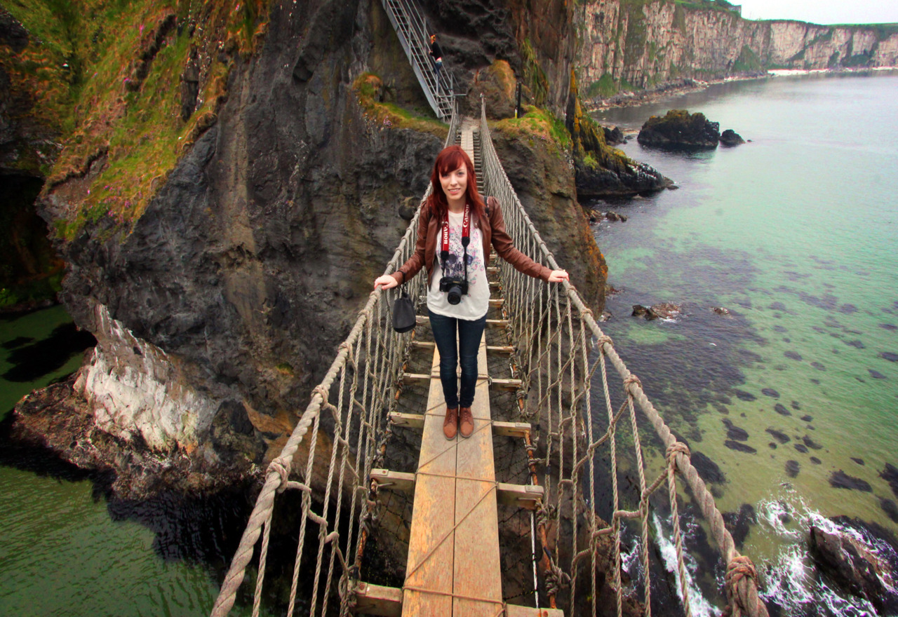 Carrick-A-Rede Rope Bridge today! Beautiful beyond words.