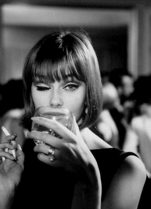 midnightmartinis:  ina balke, 1964 - by ted russell
