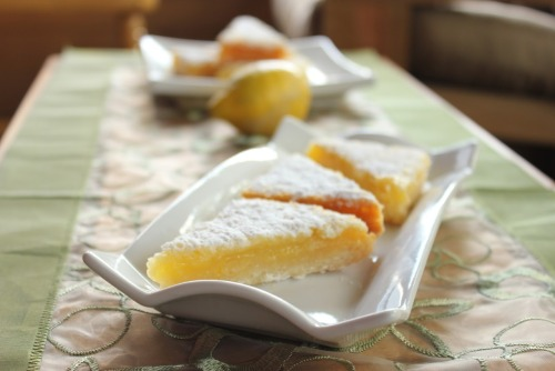 gastrogirl:  summer lemon bars.