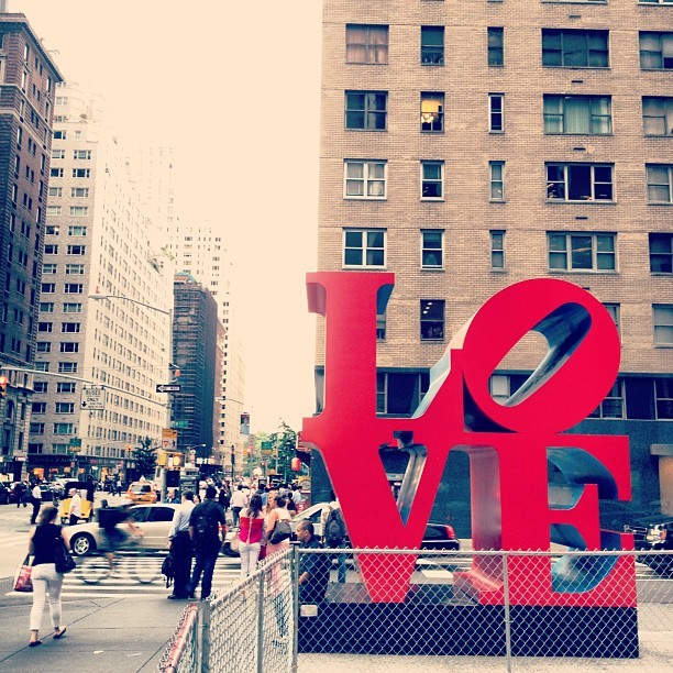 #Love #nyc #newyorkcity #manhattan  (Taken with Instagram at Love Sculpture)